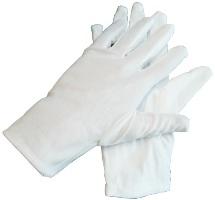 Перчатки белые мужские (Россия)
