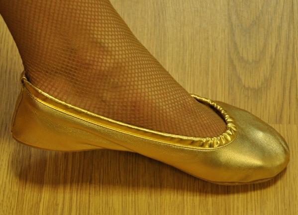 Чешки золотые Танцмастер