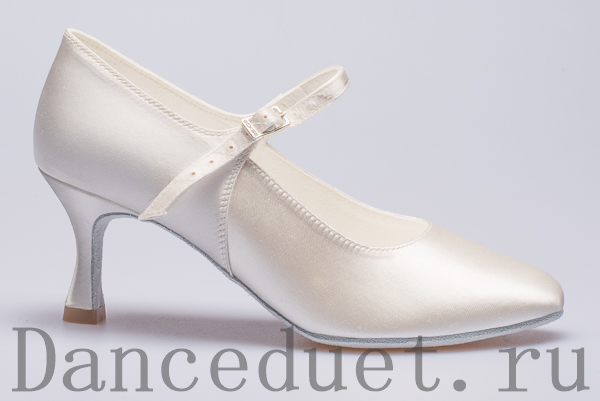 Бальные туфли Eckse белые