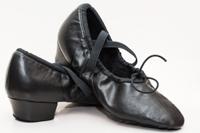 Балетки на каблуке Танцмастер