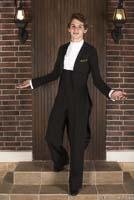 Фрак бальный (с брюками)